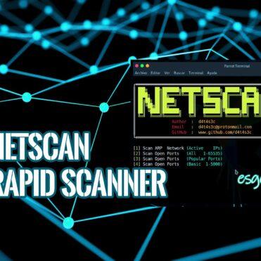 NetScan Escáner Puertos ARP Rápido