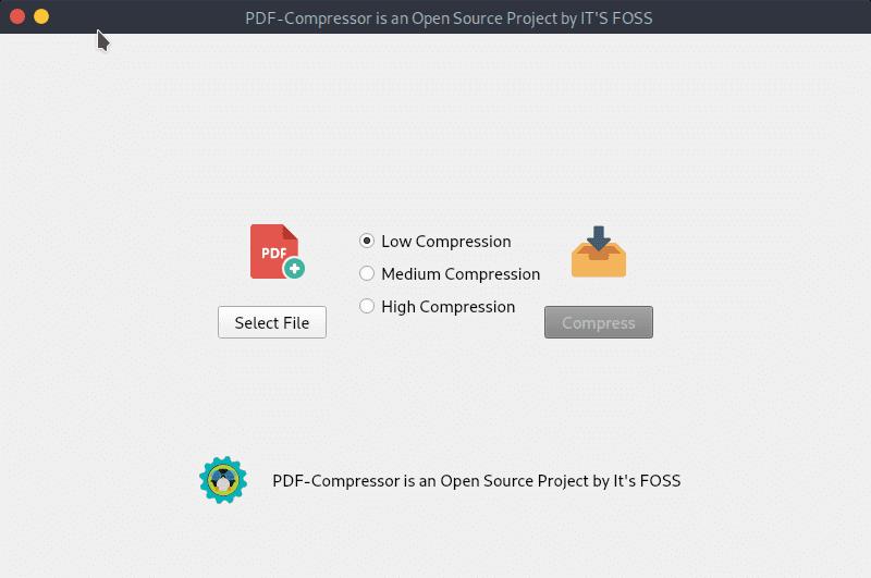 Nivel Compresión con PDF Compressor