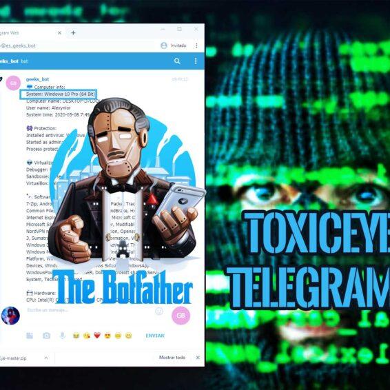 ToxicEye RAT Windows Telegram Bot