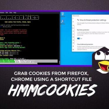 Hmmcookies Grab Cookies From Browsers Using A Shortcut File