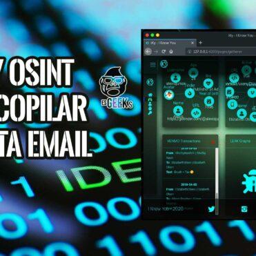 iKy OSINT Recopilar Información Email