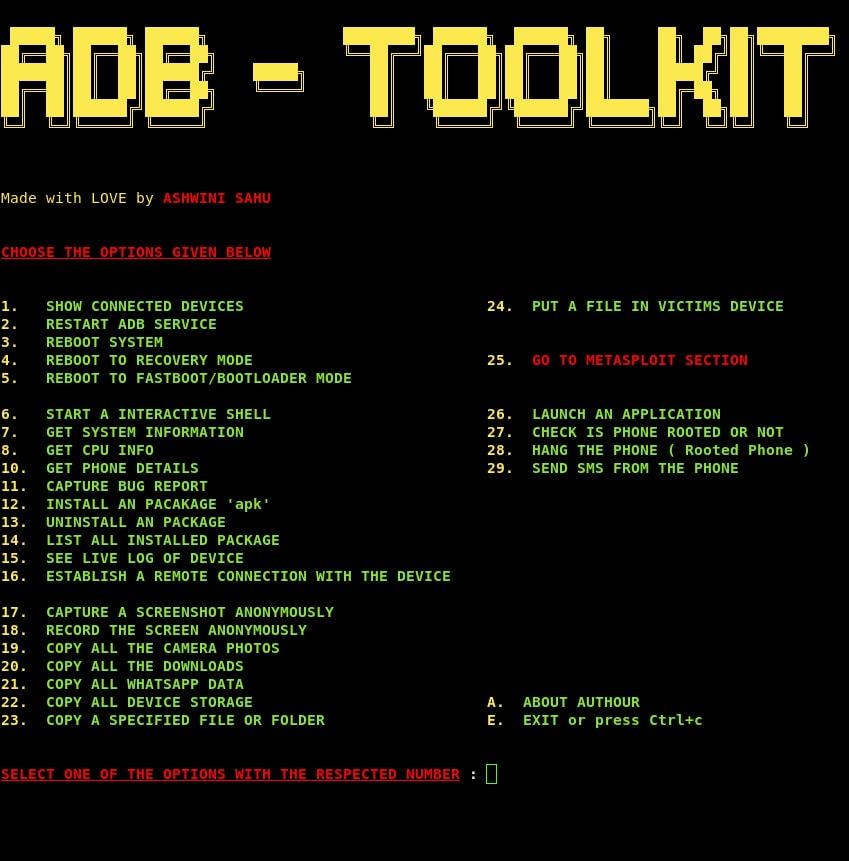 Captura ADB-Toolkit