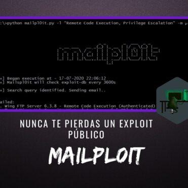 Mailpl0it Nunca te Pierdas un Exploit Público