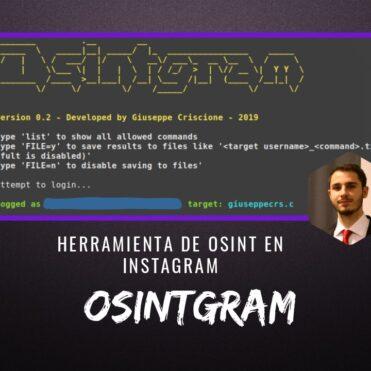 Osintgram Herramienta de OSINT en Instagram