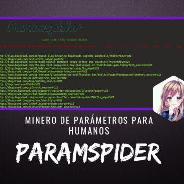 ParamSpider Extractor Parámetros para Humanos