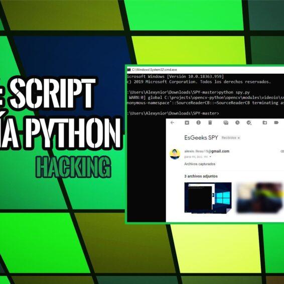 SPY Espiar PC y Enviar Datos Capturados por Email