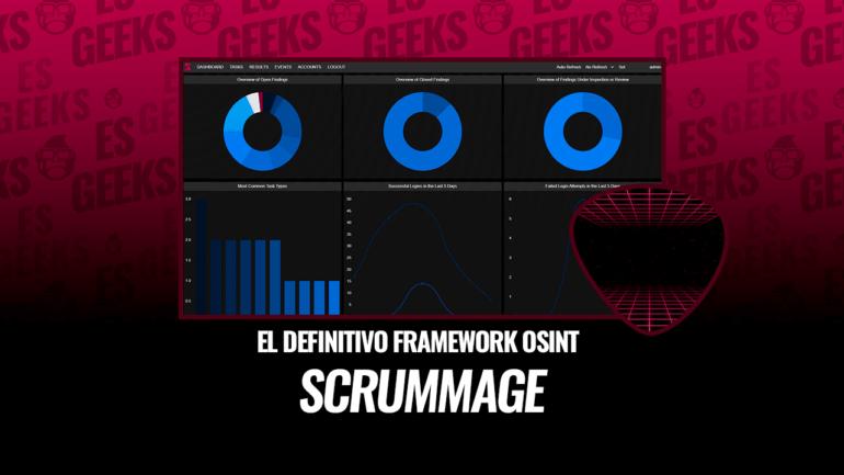 Scrummage El Definitivo Framework OSINT