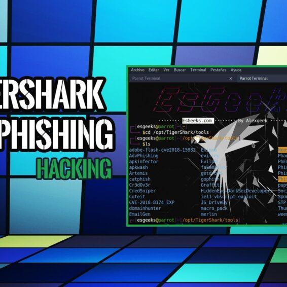 TigerShark: Kit de Phishing totalmente Personalizable