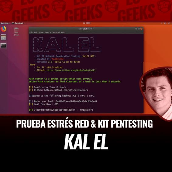 Kalel Prueba de Estrés de Red y Kit de Pentesting