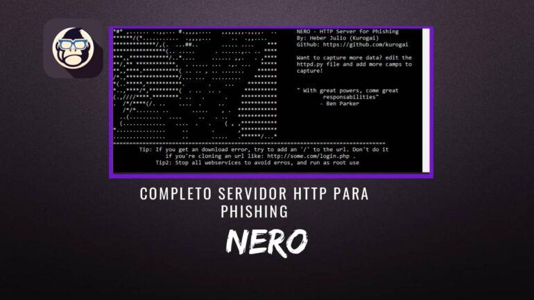 NERO Completo Servidor HTTP Phishing