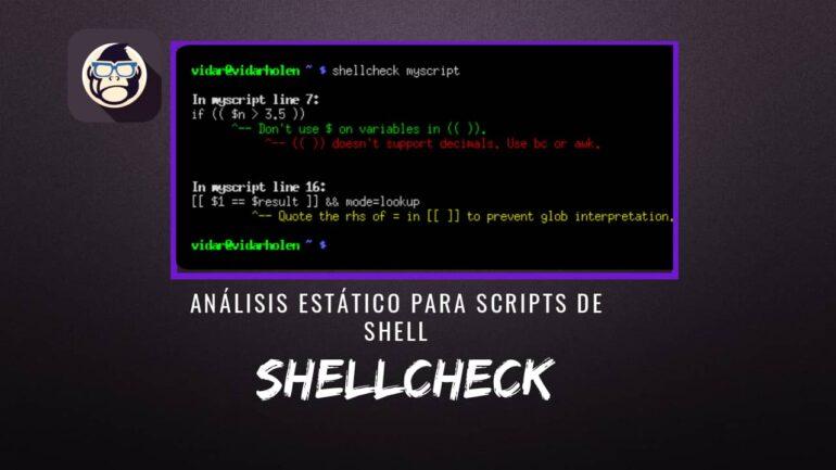 ShellCheck Análisis Estático Scripts Shell