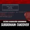 Subdomain-takeover Escáner para Subdomain Takeover