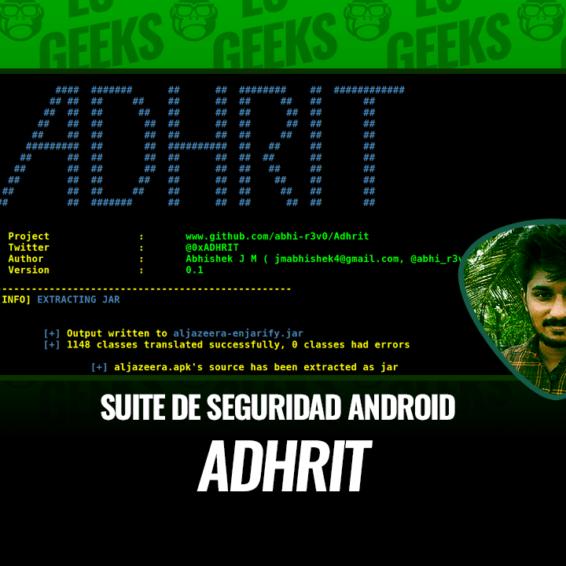 Adhrit Análisis y Reversing de Android APK