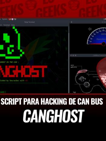CANghost Script Automatizado para Hacking CAN Bus