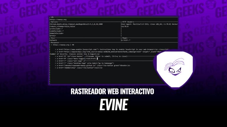 Evine Rastreador Web con CLI Interactivo