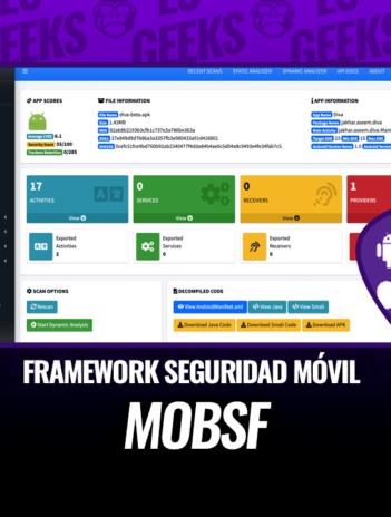 MobSF Framework de Seguridad Móvil Todo en Uno