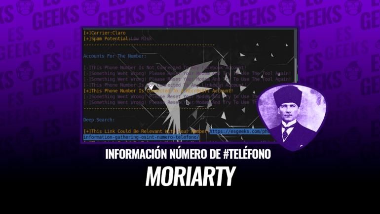 Moriarty-Project Obtener Información de Número de Teléfono