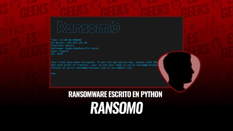 Ransom0 Ransomware de Código Abierto en Python
