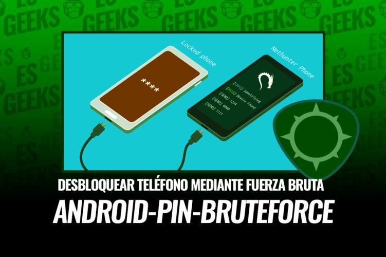 Android-PIN-Bruteforce Desbloquear Teléfono Fuerza Bruta