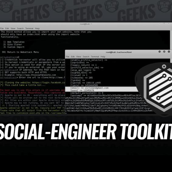 Demostración Social-Engineer Toolkit