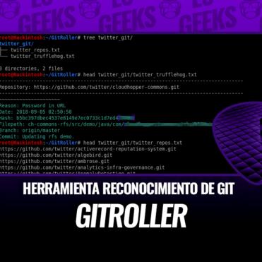 GitRoller Herramientas de Reconocimiento de Git