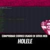 Holehe Comprobar si Correo se Utiliza en Diferentes Sitios