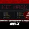 KitHack Paquete Herramientas Hacking y Generador Backdoors