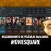 MovieSquare Cliente Descubrimiento Películas Linux