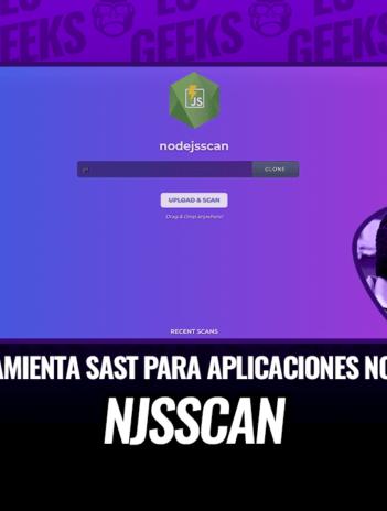 Njsscan Herramienta SAST para Aplicaciones Node.js