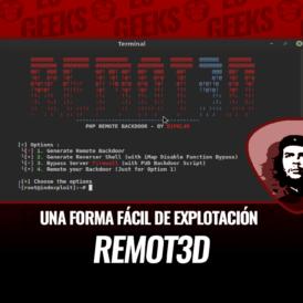 Remot3d Una Forma Fácil de Explotación