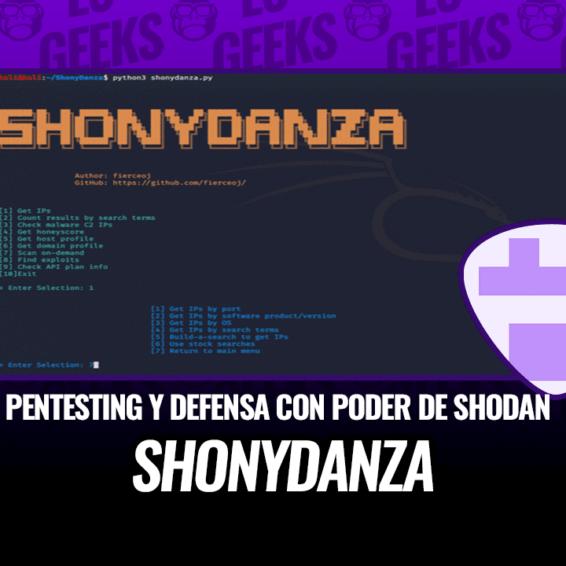 ShonyDanza Herramienta para Pentesting y Defensa con Shodan