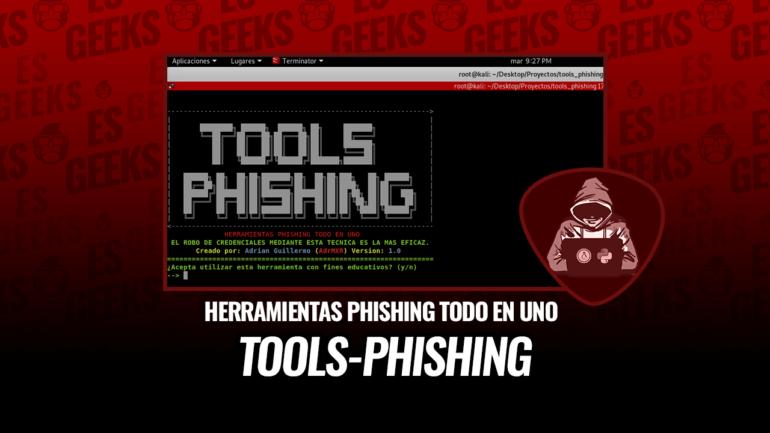 Tools-Phishing Herramientas Phishing Todo en Uno