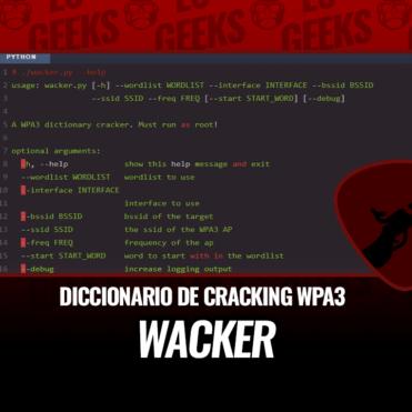 Wacker Diccionario de Cracking WPA3