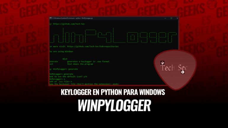 WinPyLogger Keylogger Python para Windows