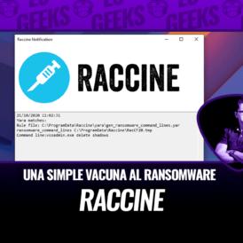 Raccine Simple Vacuna al Ransomware