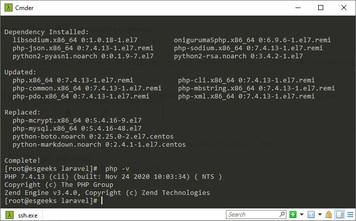 Instalar PHP 7