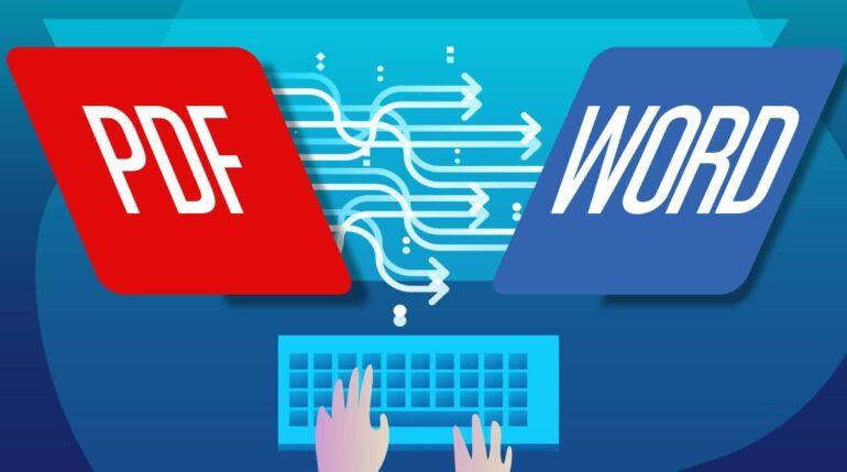 Cómo usar PDF to Word Converter
