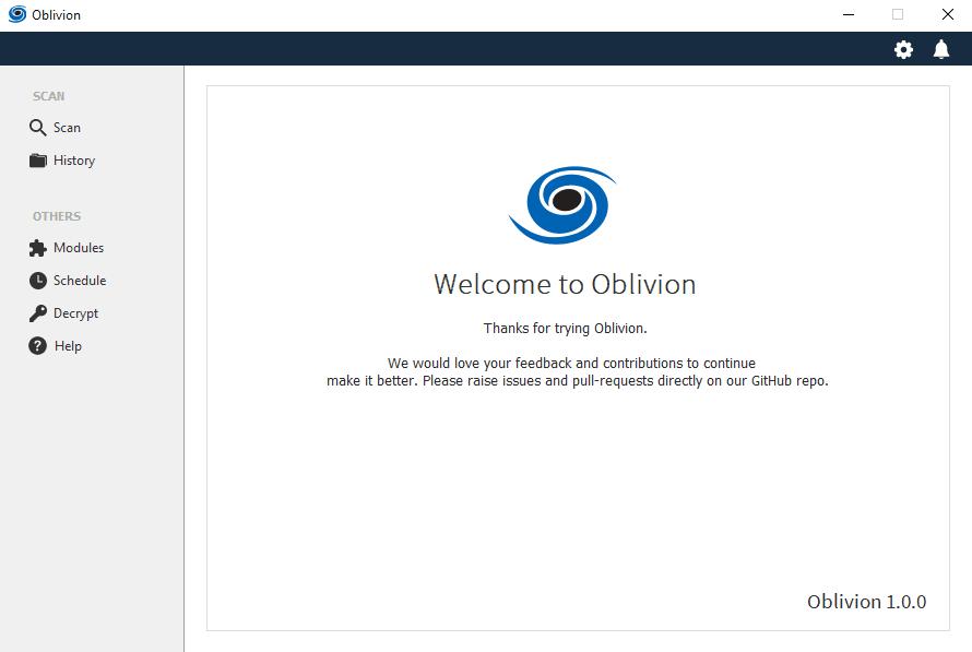 Cliente Oblivion