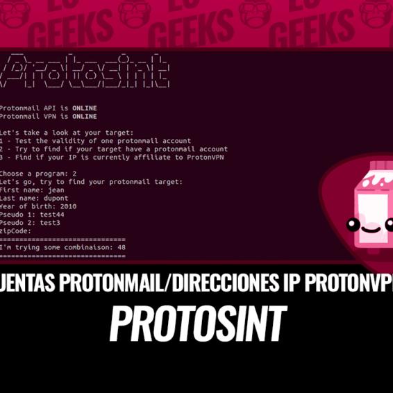 ProtOSINT Cuentas ProtonMail y Direcciones IP ProtonVPN