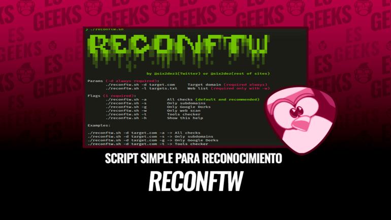 Reconftw Script Simple Reconocimiento