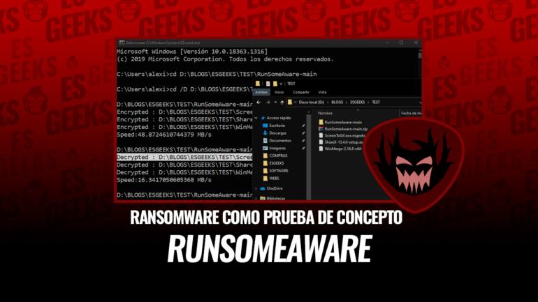 RunSomeAware Ransomware como Prueba de Concepto