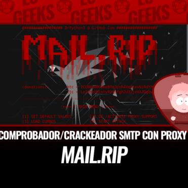 Mail.Rip v2 Comprobador Cracker SMTP