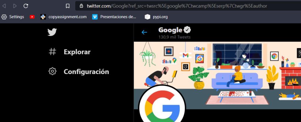 Buscador Twitter Python