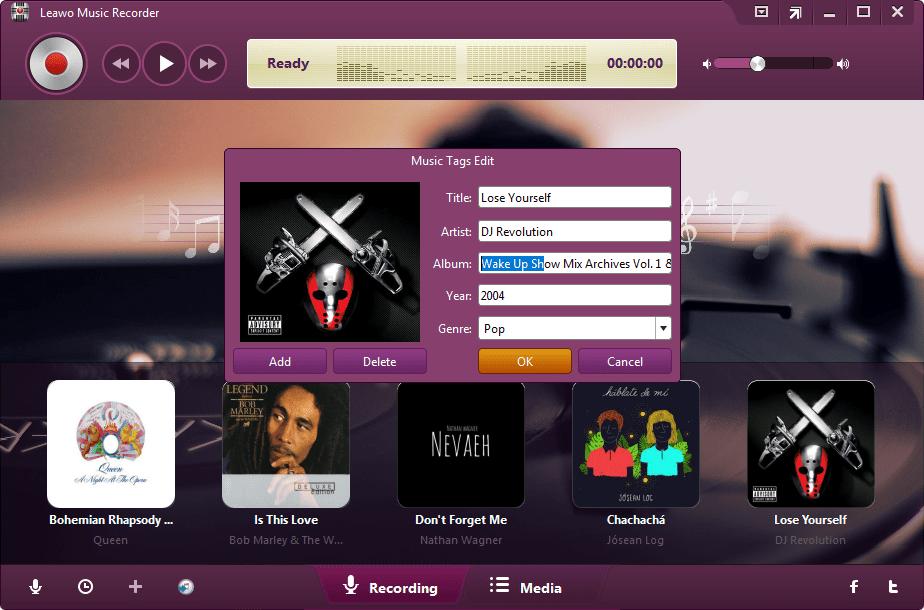 Editar Etiqueta Música