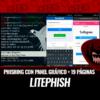 LitePhish Phishing Panel Gráfico 19 Plantillas