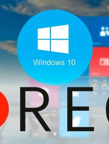 Mejores 10 Grabadores de Pantalla para Windows 10