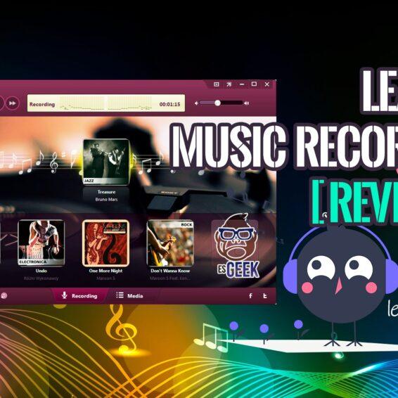 Revisión de Leawo Music Recorder